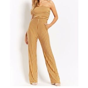 Striped jumpsuit from Forever 21